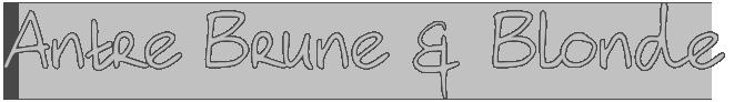 Antre Brune et Blonde Logo